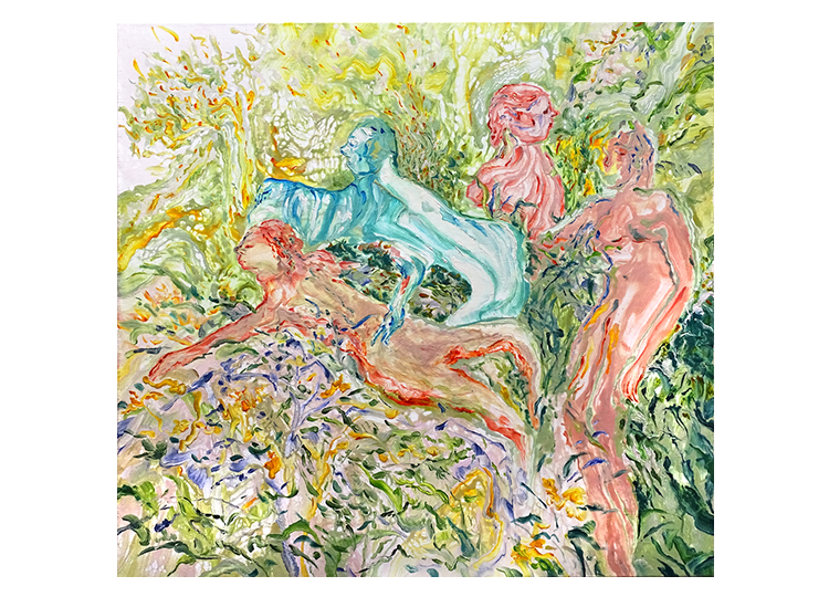 A Path in the Garden, 2019, werk van Cian-Yu Bai